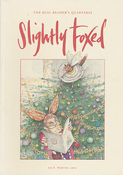 Slightly Foxed 8: Cooking with a Poet Winter…