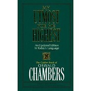 MY UTMOST FOR THE HIGHEST CHAPLAINS EDITION…
