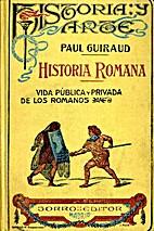 Historia Romana by Paul Guiraud