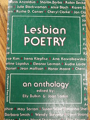 Lesbian Poetry: An Anthology par Elly Bulkin