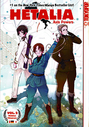 Hetalia Axis Powers #02 av Hidekaz Himaruya