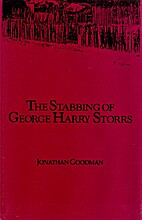 The stabbing of George Harry Storrs by…
