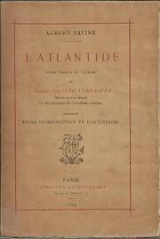 Atlantide por Jacint Verdaguer