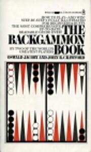 Backgammon Book de Oswald Jacoby