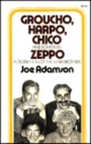 Groucho, Harpo, Chico and sometimes Zeppo af…