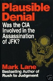 Plausible Denial: Was the CIA Involved in…