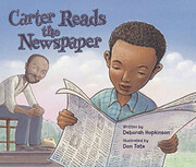 Carter Reads the Newspaper por Deborah…