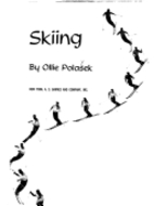 Skiing by Ollie Polasek