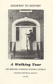 A Self Guided Walking Tour of the Bedford…