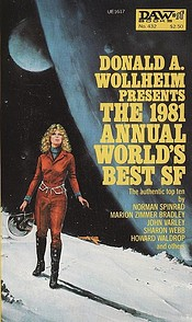 The 1981 Annual World's Best SF  cover