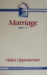 Marriage (Ethics: Our Choices) av Helen…