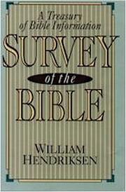 Bible survey, a treasury of Bible…