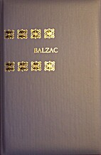 Balzac by Beatrix Beck en anderen