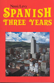 Spanish Three Years Review Text von Robert…