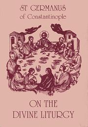 On the Divine Liturgy af St.Germanus of…