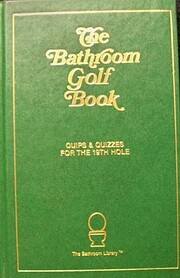 The Bathroom Golf Book by John Murphy