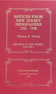 Notices from New Jersey newspapers,…