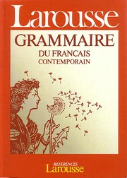 Grammaire Larousse du francais contemporain…