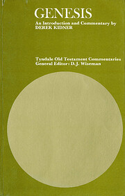 Genesis (Tyndale Old Testament Commentary)…