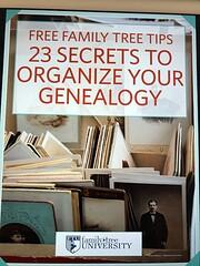 Free Family Tree Tips; 23 Secrets to…