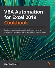 VBA Automation for Excel 2019 Cookbook av…