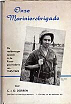 Onze mariniersbrigade (1945-1949) : een…