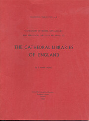 A checklist of books, catalogues and…