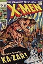 The Uncanny X-Men #62 - Strangers ... In a…