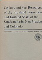 Geology and fuel resources of the Fruitland…