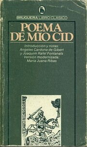 Poema de Mio Cid af Ma. Juana Ribas