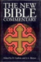 The New Bible Commentary by Donald Guthrie