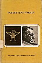 Robert Penn Warren by Charles H. Bohner