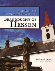Grandduchy of Hessen (Map Guide to German…