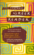 The Portable Greek Reader by W. H. Auden