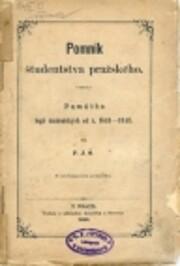 Pomník študenstva pražského por P.J.Š.