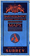 Bartholomew's Half-inch Map of Great Britain…
