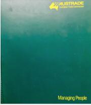 Managing People: Austrade Training  –…