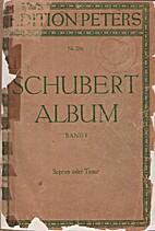 Lieder - Ausgabe fur hohe Stimme - Vol. I by…