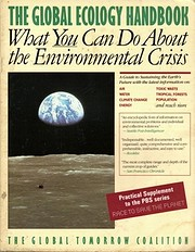 The Global Ecology Handbook: What You Can Do…