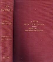 Interlinear Greek-English New Testament With…