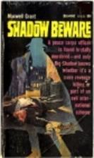 Shadow Beware by Dennis Lynds