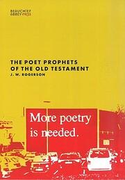 The Poet Prophets of the Old Testament de…