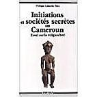Initiations et Sociétés secrètes au…