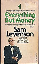 Everything but Money by Sam Levenson