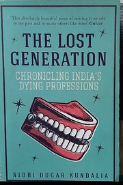 The Lost Generation (Chronicling India's…