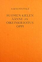 Suomen kielen äänne- ja…