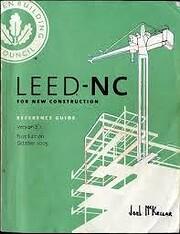 USGBC LEED - NC For New Construction V 2.2…