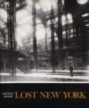 Lost New York de Nathan Silver