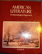 American Literature, a Chronological…