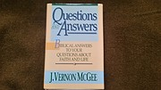 Questions and Answers de J. Vernon McGee